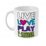 Live love play volleyball - 11oz Mug left