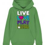 Fresh green - Live love play volleyball - Mini Cruiser
