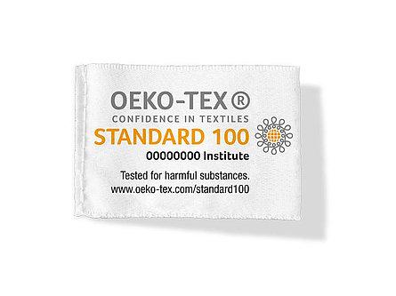 OEKO TEX 100 label