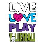 Live Love Play Volleyball #1
