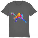 Anthracite - Volleyball Digger - Colourful Woman - Creator Unisex Tshirt