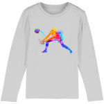 Heather grey - Volleyball Digger - Colourful Woman - Mini Hopper