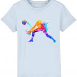 Sky blue - Volleyball Digger - Colourful Woman - Mini Creator Tshirt