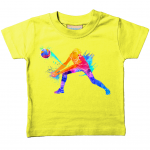 Pale yellow - Volleyball Digger – Colourful Woman – Larkwood Baby/Toddler T-Shirt