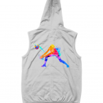 HEather grey - Volleyball Digger - Colourful Woman - AWDis Sleeveless Zoodie