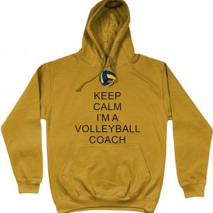 Keep Calm – Volleyball Coach #2 – AWDis College Hoodie