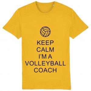 Keep Calm – Volleyball Coach #1 – Creator Unisex Tshirt