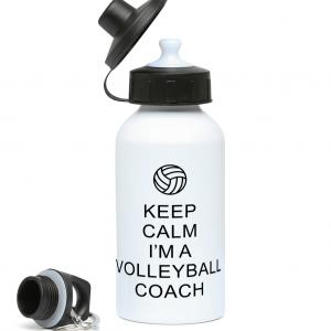 Keep Calm – Volleyball Coach #1 – 400ml Water Bottle