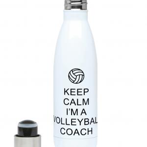 Keep Calm – Volleyball Coach #1 – 500ml Water Bottle