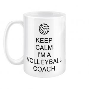 Keep Calm – Volleyball Coach #1 – 15oz Mug