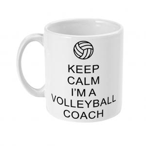 Keep Calm – Volleyball Coach #1 – 11oz Mug
