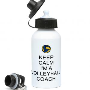 Keep Calm – Volleyball Coach #2 – 400ml Water Bottle