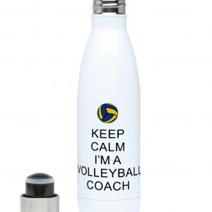 Keep Calm – Volleyball Coach #2 – 500ml Water Bottle