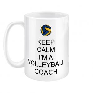 Keep Calm – Volleyball Coach #2 – 15oz Mug