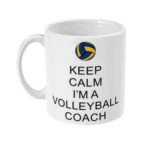 Keep Calm – Volleyball Coach 2 – 11oz Mug