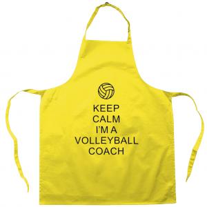 Keep Calm – Volleyball Coach #1 – Apron