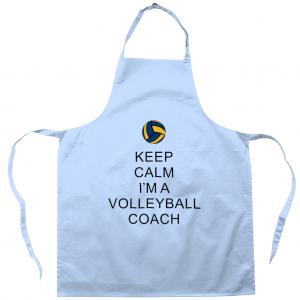 Keep Calm – Volleyball Coach #2 – Apron