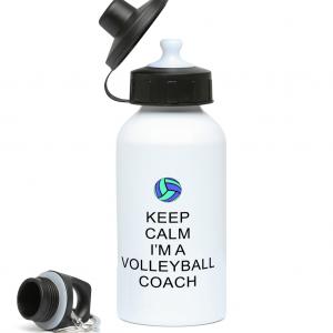 Keep Calm – Volleyball Coach #5 – 400ml Water Bottle