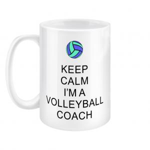 Keep Calm – Volleyball Coach #5 – 15oz Mug