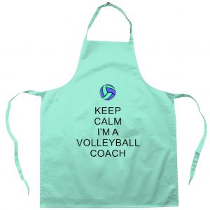 Keep Calm – Volleyball Coach #5 – Apron