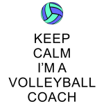 Keep Calm - Volleyball Coach #5
