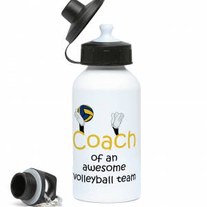 Volleyball coach – Awesome team #3 – 400ml Water Bottle