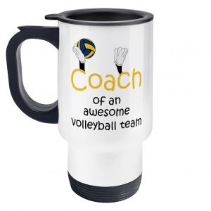 Volleyball coach – Awesome team #3 – Travel Mug