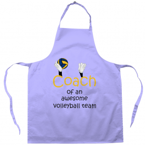 Coach Of An Awesome Volleyball Team #3 – Apron