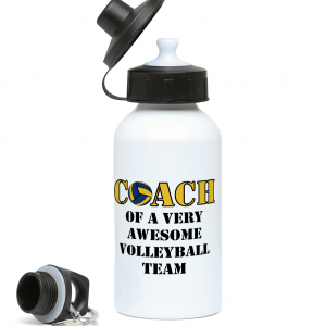 Volleyball coach – Awesome team #2 – 400ml Water Bottle