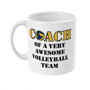 Volleyball coach – Awesome team #2 – 11oz Mug