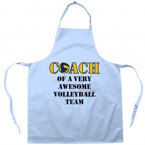 Coach Of An Awesome Volleyball Team #2 – Apron