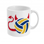 Volleyball brings out the devil in me -11oz mug image