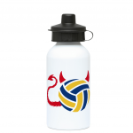 Volleyball brings out the devil in me - water bottle image
